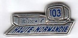 FRANCE TELECOM 103 HAUTE NORMANDIE  ARTHUS BERTRAND - France Telecom