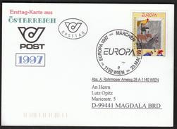 Austria 1997 / Europa CEPT / Fairytales And Legends / Märchen - Europa-CEPT
