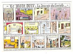 Santé Thermalisme ; LE MONT DORE Puy De Dôme : La Journée Du Curiste; Bande Dessinée BD , 1968, TB - Santé