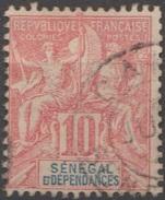 Sénégal 1900-01 N° 22 Sage Faux De FOURNIER   (E2) - Sénégal (1887-1944)