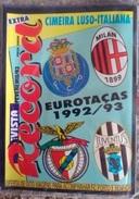 GUIDE DES COMPÉTITIONS EUROPÉENNES 1992/1993 - Livres, BD, Revues