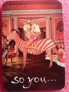 SO YOU De GIORGIO BEVERLY HILLS   PATCH - Perfume Cards