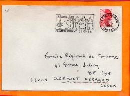 LOIRE-ATL., Chateaubriant, Flamme SCOTEM N° 5237, Pays D'accueil - Marcophilie (Lettres)