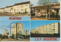 D60 - BEAUVAIS - Z.U.P. ARGENTINE-MULTIVUES : AVENUE DU 8 MAI 1945/CENTRE COMMERCIAL/RUE E BERRY/AVENUE JEAN MOULIN-CPSM - Beauvais