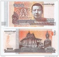 Camboya -  Cambodia 100 Riels 2014 Pk-65 UNC Ref 302-1 - Cambodia