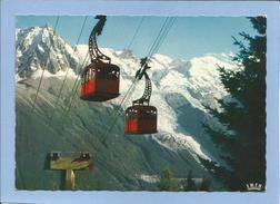 Chamonix-Mont-Blanc (74) Le Mont Blanc Et L'Aiguille Du Midi 2 Scans Téléphérique - Chamonix-Mont-Blanc