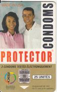MADAGASCAR - Protector Condoms(25 Units, Logo In Corner), Used
