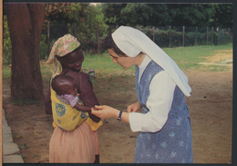 °°° 4599 - AFRICA - DAUGHTERS OF MARY HELP OF CHRISTIANS °°° - Cartoline