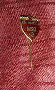 FOOTBALL ASSOCIATION BELI MANASTIR CROATIA, VINTAGE ENAMEL PIN BADGE - Football