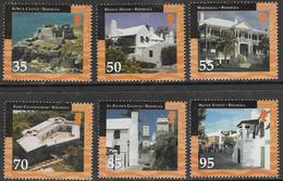 Bermuda SG857-862 2001 Historic Buildings St George's Set 6v Complete Unmounted Mint [34/28882/2D] - Bermuda