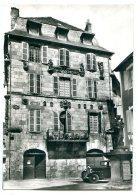 19120 BEAULIEU-SUR-DORDOGNE - Maison Renaissance - Voiture Citroën Rosalie - Photo Véritable - Frankreich