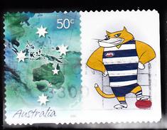 2005. AUSTRALIAN DECIMAL. Marking The Occasion. 50c. Blue. With Tab. P&S. FU.