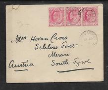 S.Africa, Cape Of Good Hope, 1904, Cover, 3d,   NEWMARKET (Griqualand East) > MERAN  (Austria); Mis-sent To Australia - Cape Of Good Hope (1853-1904)