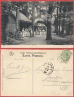 AM777 Carte Postale De Han Sur Lesse à Jemappes 1908 - Souvenir Cards