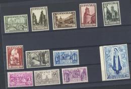 AM1001 Timbre Série 363/74 Orval  Neuf XX  Valeur Catalogue 3005 Euro - Bélgica