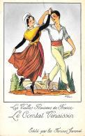 [DC10025] CPA - LES VIEILLES PROVINCES DE FRANCE EDITE PAR LES FARINES JAMMEL FIRMATA DROI - NV - Old Postcard - Droit