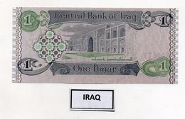 Iraq - Banconota Da 1 Dinaro - Nuova -  (FDC4579) - Iraq