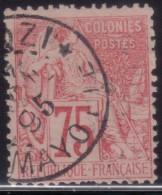 YT58 Alphee Dubois 75c - Mayotte Dzaoudzi - Alphée Dubois