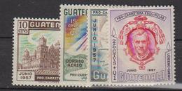 GUATEMALA     1957      PA   226 / 229        COTE      67 .50   EUROS           ( 1024 ) - Guatemala