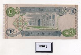 Iraq - Banconota Da 1 Dinaro - Nuova -  (FDC4580) - Iraq