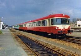 AL 408 - Autorail Caravelle X 4503 En Gare - CHATEAUBRIANT - 44 - SNCF - Châteaubriant