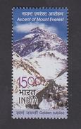 INDIA 2003 Ascent Of Mt. Everest Golden Jubilee Himalayas Mountain 1v MNH