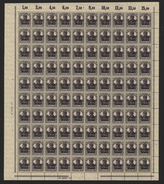 Belgien,Nr.16bII Im Bogen,xx,rechts Dgz.  (M4) - Besetzungen 1914-18