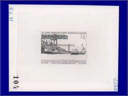 """Qualité: EPA – 1204, épreuve D'artiste En Noir, Annotée """"1 Phase, 8/6/71, 104"""": Acieries... - Stamps"""