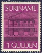 SURINAME - CENTRAL BANK - ARCHITECTURE - **MNH  -1975 - Münzen