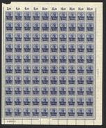 Belgien,Nr.18 Im Bogen,xx,  (M4) - Besetzungen 1914-18