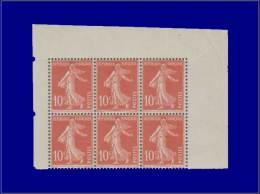 Qualité: XX – 138 Type II, Feuille De Carnet De 6 Ex, Papier X, Issu De Feuille De 144 (grandes... - Stamps