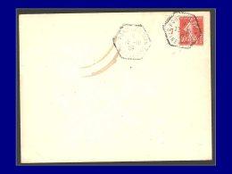 """138, Enveloppe Non Circulée, Cad. Hexagonal """"Port Aviation 12/10/09"""". - Stamps"""