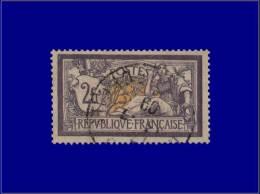 Qualité: O – 121, Tb: 2f. Merson Violet. Cat Price €: 90 - Stamps