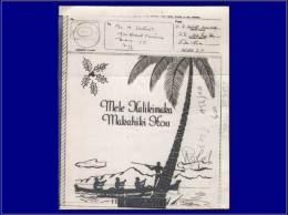 Qualité: O – Australie, V-Mail Illusté 5/2/43, Illustré Palmier. - Stamps