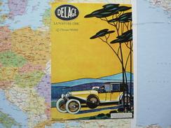 Vieilles Affiches Delage La Voiture Chic - Passenger Cars