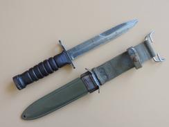 Baïonnette USM4 UTICA, US WW2. - Armes Blanches