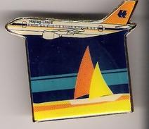 Pin HAPAG LLOYD FLUG - Airbus A310 (mit Segeln) - Luftfahrt