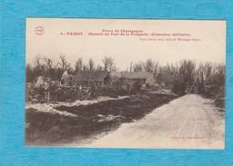 Taissy ( Marne ). - Chemin Du Fort De La Pompelle ( Cimetière Militaire ). - Frankrijk