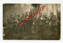 Arrivee De La FELDPOST-Distribution-Lettres-Colis-CARTE PHOTO Allemande-Guerre-14-18-1 WK-Militaria-Feldpost- - Guerre 1914-18