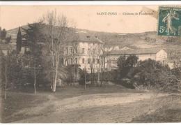 St Pons De Thomières: Château DePonderach - Saint-Pons-de-Thomières