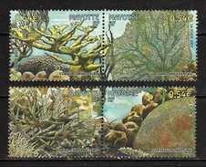 France - Mayotte.2007 Corals. Fauna/Marine Life.MNH - Mayotte (1892-2011)