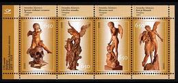 Estonia 2005 MNH ** Mi 527-530 Bl.23 Sculptor Amandus Adamson - Estonia