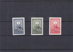 Hongrie - Yvert 1017 / 19 ** - MNH - NON Dentelés - Fleurs - Timbres Sur Timbres - Valeur 80 Euros