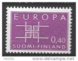 Finlande 1963 N° 556 Europa