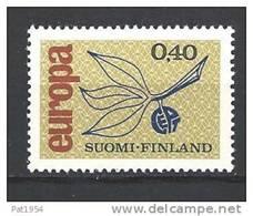Finlande 1965 N°578 Europa