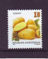 Macedonia 2017 Y Plants Food Vegetables Potato MNH - Macedonia