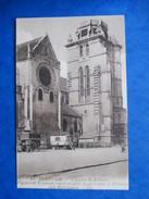 OISE  60     BEAUVAIS   -  EGLISE  ST. ETIENNE    -    ROULOTTES  DE ROMANICHELS ?    ANIME    TTB - Beauvais