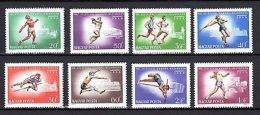 Hungary 1966 Olympics Sport MNH - Olympische Spelen
