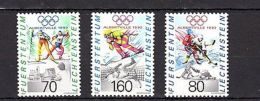 Leichtenstein 1992 Olympics Barcelona MNH - Olympische Spelen