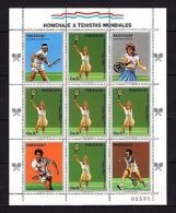 Paraguay 1986 Sport Tennis P.2 MNH - Olympic Games